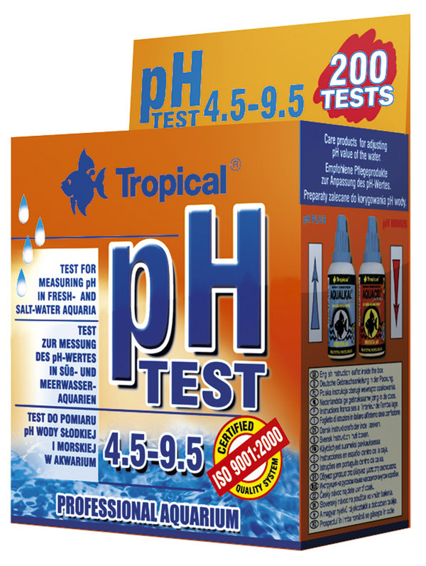 """Tropical ph-Test 4,5-9,5"""