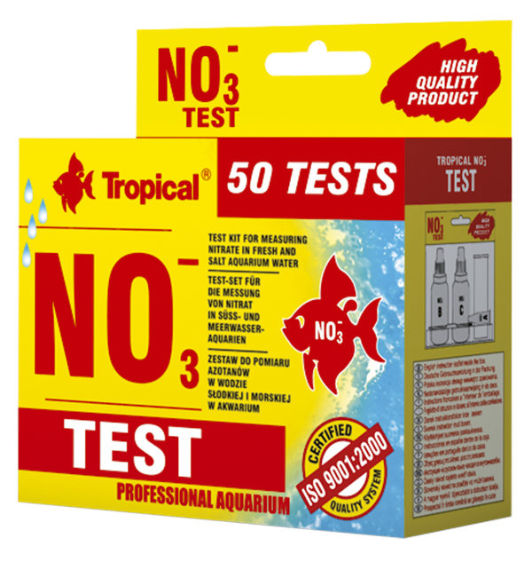 """Tropical Nitrat Test (NO³)"""