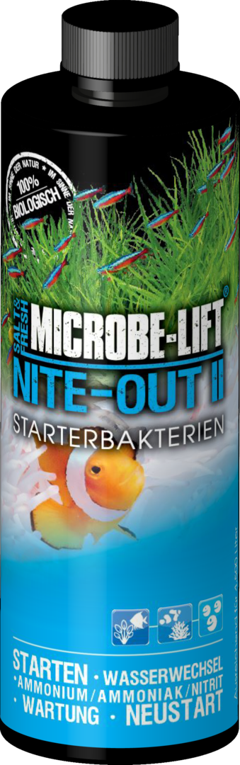 """ARKA MICROBE-LIFT Nite-Out II - Starterbakterien (473ml.)"""